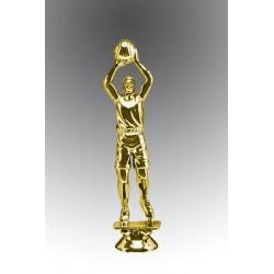 Statueta aurita Cel mai bun jucator de bascket