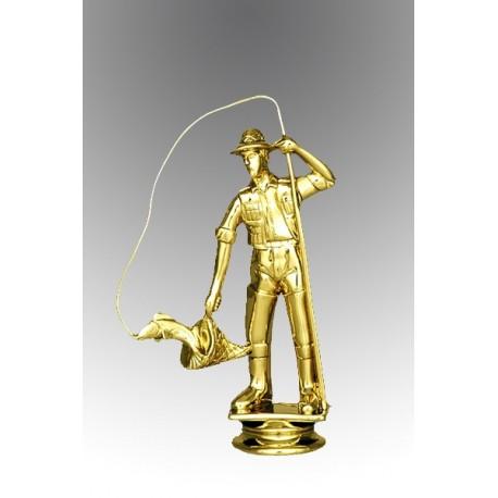 Statueta aurita Cel mai bun pescar
