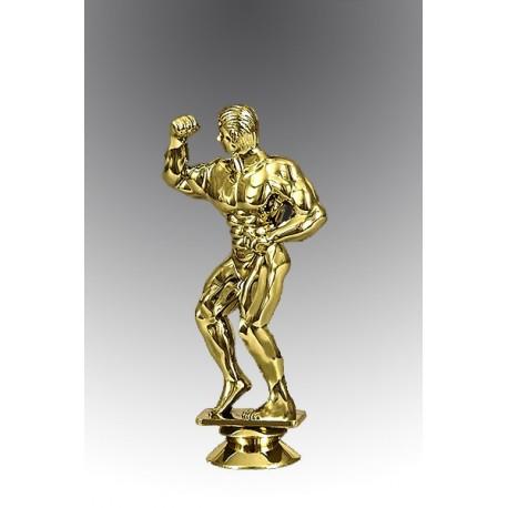 Statueta aurita Cel mai puternic culturist