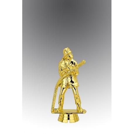 Statueta aurita Cel mai curajos pompier
