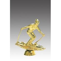 Statueta aurita Cel mai bun schior