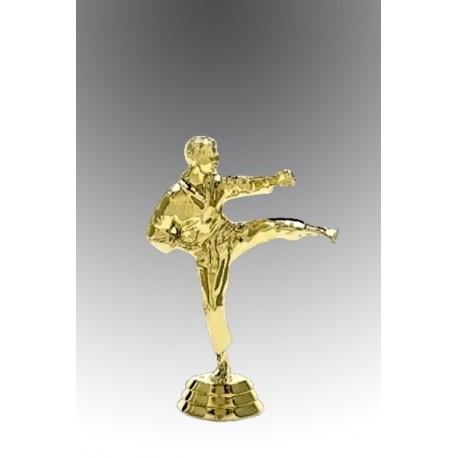 Statueta aurita cel mai curajos karateka