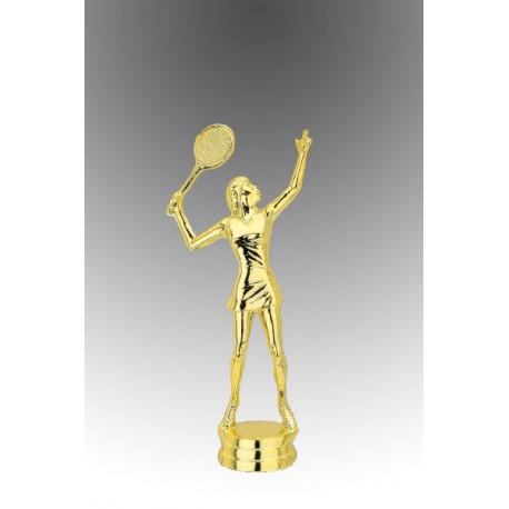 Statueta aurita pentru Cea mai frumoasa jucatoare de tenis