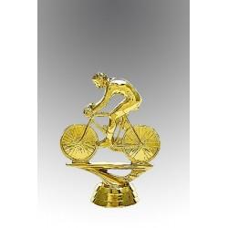 Statueta aurita pentru Cel mai iute biciclist