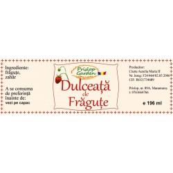 Eticheta Dulceata de fragute