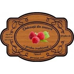 Eticheta Dulceata din zmeura
