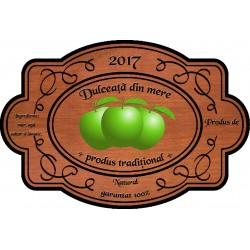Eticheta Dulceata din mere