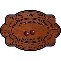 Eticheta Dulceata din cirese