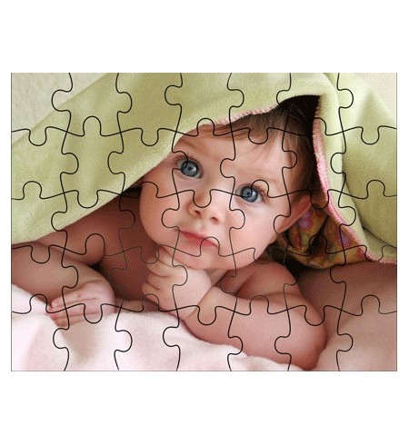 Puzzle A5 magnetic personalizat
