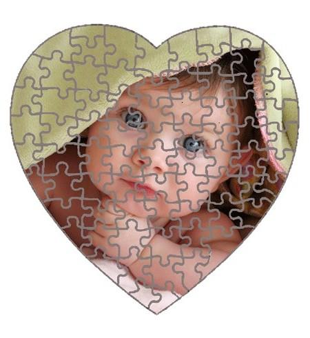 Puzzle inima magnetic